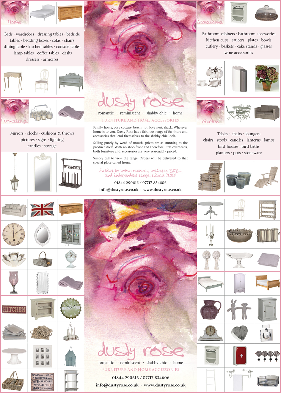 Dusty Rose - Furniture and Home Accessories